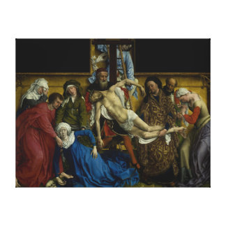 The Descent from the Cross Rogier van der Weyden Gallery Wrapped Canvas
