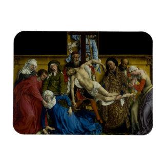 The Descent from the Cross Rogier van der Weyden Magnet