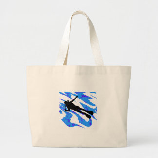 The Descent Large Tote Bag