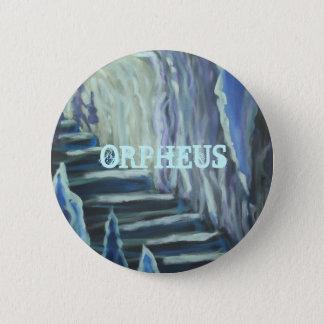The Descent of Orpheus 6 Cm Round Badge