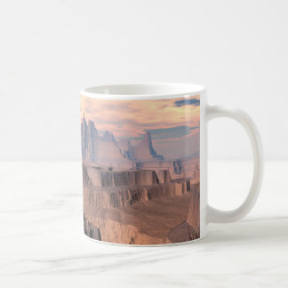 The Desert of Ode Planet Kytherial Sci Fi Mug