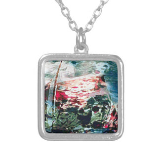 The Desert Queen Sailing Silver Plated Necklace