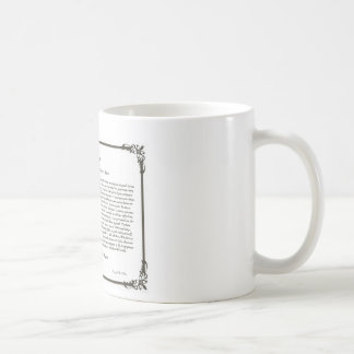 The Desiderata Poem Coffee Mug=Daily Inspiration Coffee Mug