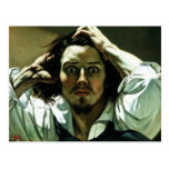 The Desperate Man by Gustave Corbet Post Cards