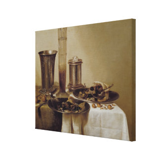 The Dessert, 1637 Gallery Wrapped Canvas