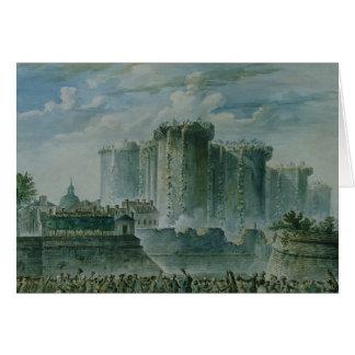 The Destruction of the Bastille, 14th July 1789 Card