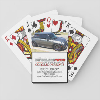 The Detailing Pros-Colorado Springs Playing Cards