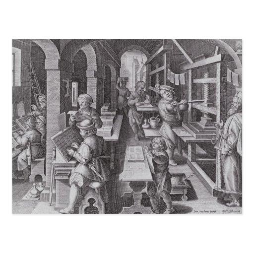 The Development of Printing Postcards