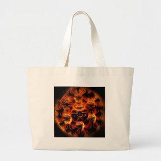 The Devil Large Tote Bag