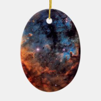 The Devil Nebula Ceramic Oval Decoration