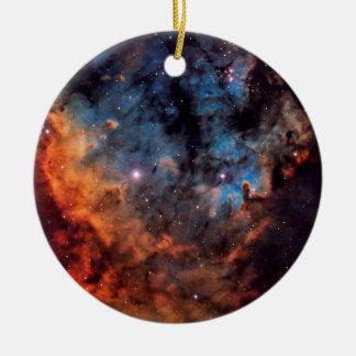 The Devil Nebula Round Ceramic Decoration