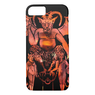 The Devil Tarot Card iPhone 7 Case