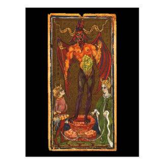 The Devil Tarot Card Postcard
