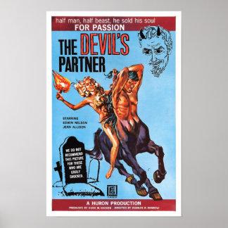 """""""The Devil's Partner"""" Poster"""