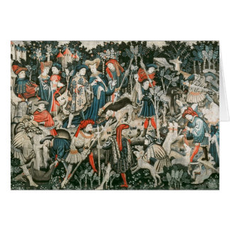 The Devonshire Hunting Tapestries Card