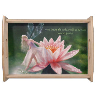 The Dew Pond large tray by Lynne Bellchamber