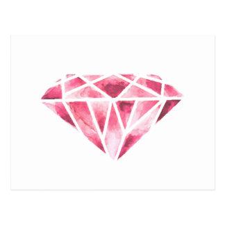 The diamond postcard