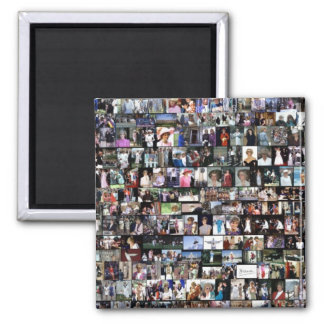 The Diana Collection Square Magnet