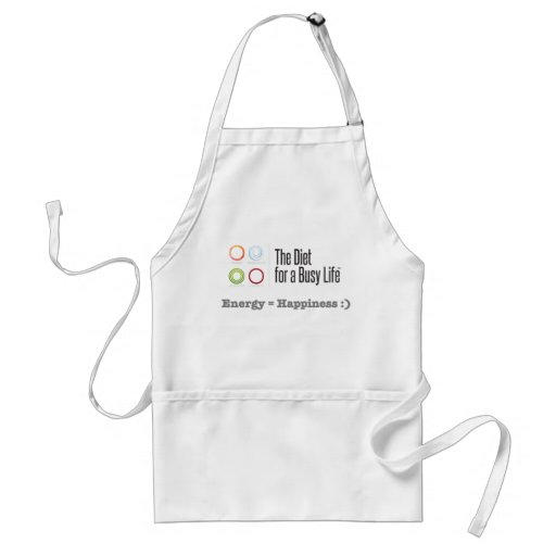 The Diet for a Busy Life Apron