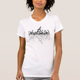 The Dimensions of Music tee for Women
