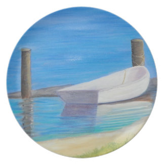 THE DINGHY Melamine Plate