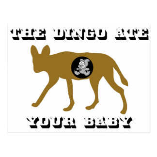 The Dingo Ate Your Baby Postcard