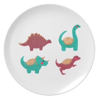 The Dinosaurs Pattern Plate
