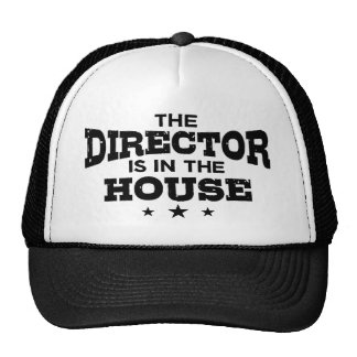 The Director Is In The House Cap