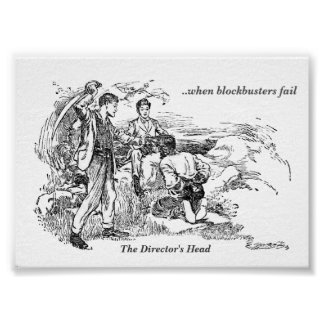 The Director's Head - Museum Print