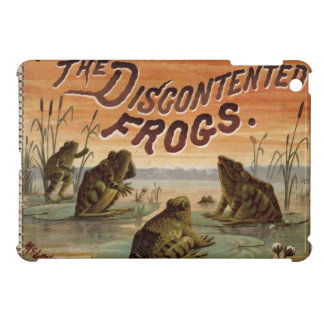 The discontented frogs 1895 iPad mini covers