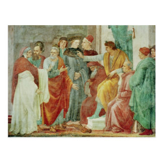 The Dispute with Simon Mago Postcard
