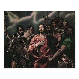 The Disrobing of Christ Poster