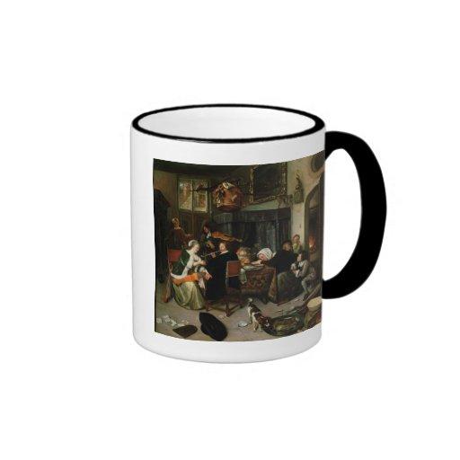The Dissolute Household, 1668 Coffee Mug