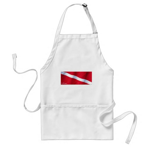The Dive Flag Collection Apron
