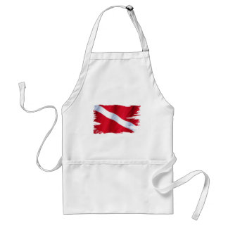 The Dive Flag Collection Adult Apron