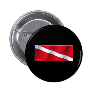 The Dive Flag Collection Pinback Buttons