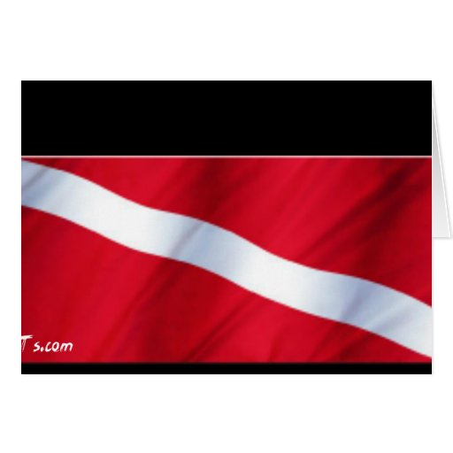 The Dive Flag Collection Greeting Cards