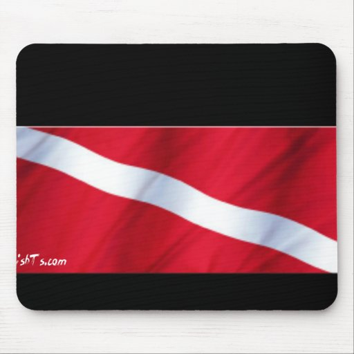 The Dive Flag Collection Mouse Mats