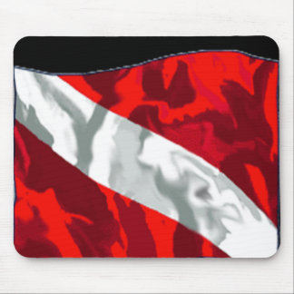 The Dive Flag Collection Mouse Pad