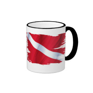 The Dive Flag Collection Mugs