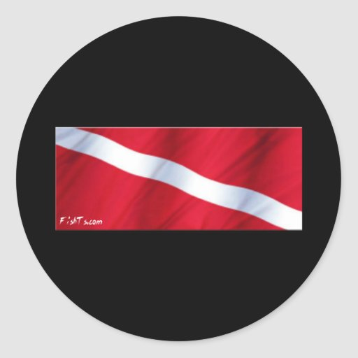 The Dive Flag Collection Sticker