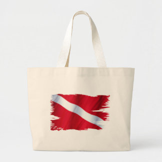 The Dive Flag Collection Jumbo Tote Bag