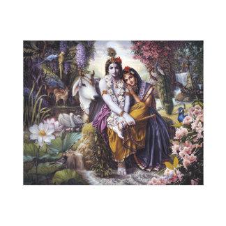 The Divine Loving Couple Canvas art