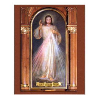 THE DIVINE MERCY DEVOTIONAL IMAGE (ORIGINAL) PHOTO PRINT