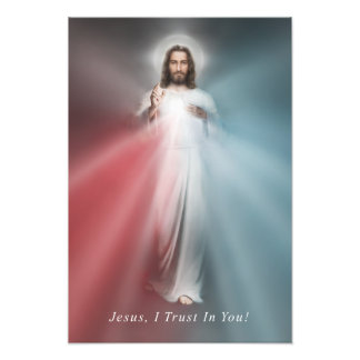 The Divine Mercy Image 13x19 Photo Print