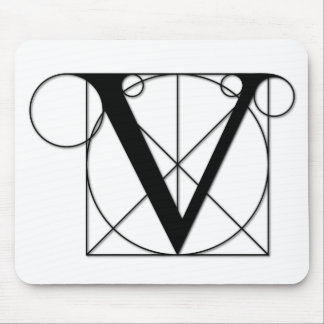The Divine Proportion - V Mouse Pad