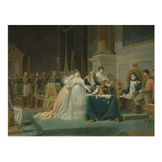 The Divorce of the Empress Josephine (1763-1814) 1 Postcard