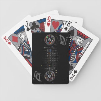 The Dj Deck Bicycle Playing Cards