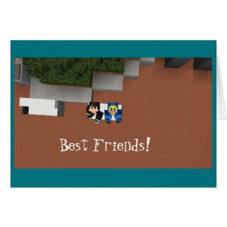 The DKR1 and Messy115 Best Friends Card