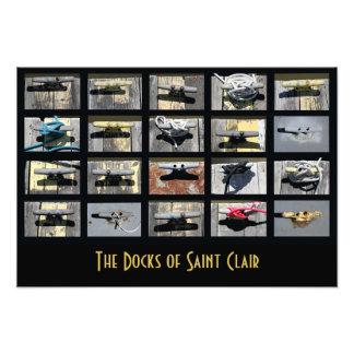 The Docks of Saint Clair Photo Print